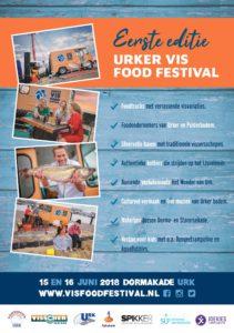 Pier 16 2 Flyer Urker VIS Food Festival 2018
