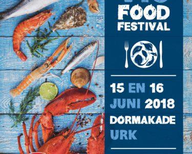 Flyer Pier16 Urker VIS Food Festival 2018